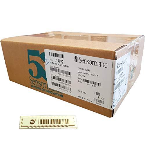 Etichette mini ultrastrip II sensormatic on sheet con finto barcode  (confezione 5000 et )