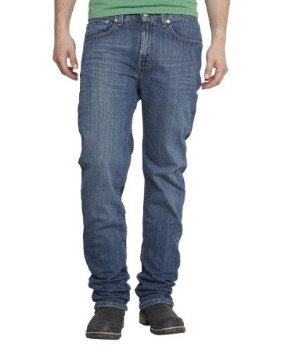 Levi's® Herren Jeans  Standard Fit 751,/ Lang, Gr. 33/34, Blau (Stretch Medium ) (Bein Strauß Herren)