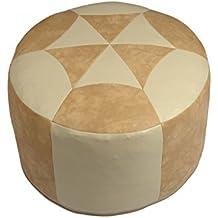 Izquierda licardo Pantuflas con botones, Interior forrado con lana de oveja, beige, 40/41 EU