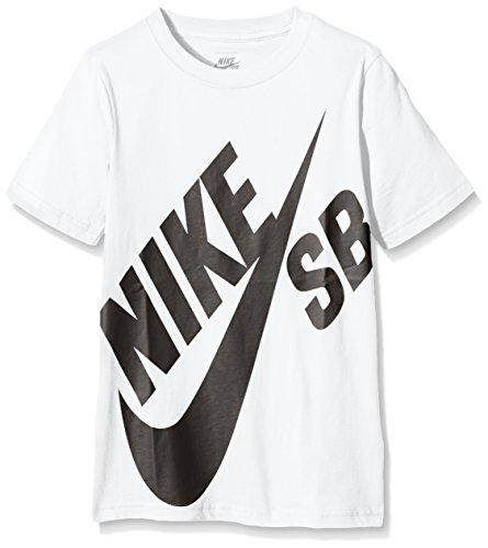 nike-sb-t-shirt-garcon-blanc-white-black-medium-taille-fabricant-10-12y