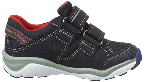 Superfit Jungen Sport5 Mini Sneakers Blau (Ocean 80)