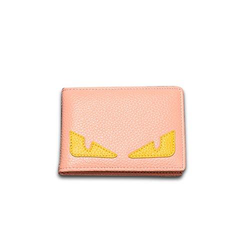 Faysting EU donna portafoglio donna borsellino multi colori clamshell cartone simpatico stile buon regalo B