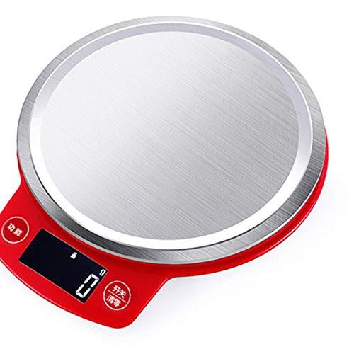 Elettronico digitale multifunzione food kitchen scale in acciaio inossidabile piattaforma con display lcd da cucina strumenti di misura rona la vita