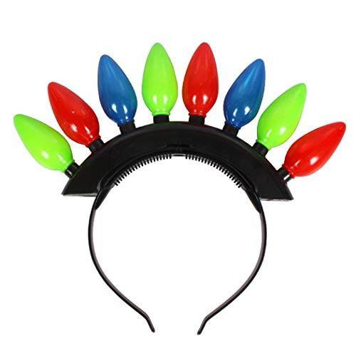 ZOYLINK Party Stirnband Kreative Mode LED Leuchten Haarband Party Supplies für Kinder