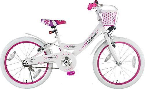 Orbis Bikes 20 Zoll Kinder Fahrrad MÄDCHENFAHRRAD KINDERFAHRRAD JUGENDFAHRRAD Kinder Bike Rad Tweety New Weiss TYT19-001