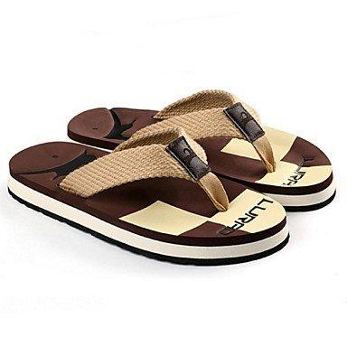 pantofole Infradito da uomo Pantofole & amp;Infradito Estate Comfort Synthetic piano casuale Lui sandali US7.5 / EU39 / UK6.5 / CN40