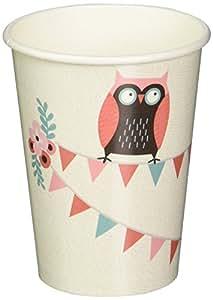 Coupes Ginger Ray partie de hibou papier - Patchwork Owl