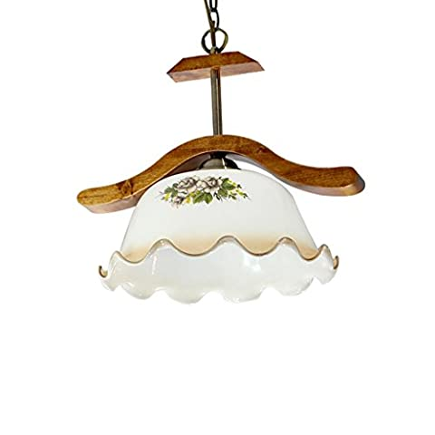Chandeliers Glass Living Room Dining Room Bar Aisle Simple Lighting European Style Pastoral Antique Single Head Fish Line