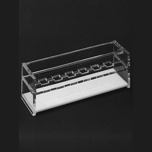 Thomafluid Küvettenständer - glasklar, Anzahl Plätze: 12