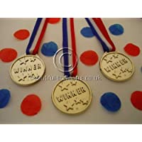 48 Winners Medals - Sports Day/Olympic Theme/Kids Parties/Awards
