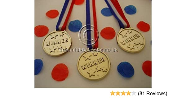 48 Winners Medals - sports day / olympic theme / kids parties / awards