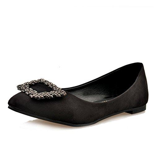 À la mode pointus chaussures/Plats/Version coréenne de douces belles chaussures B