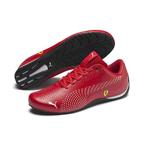 PUMA Ferrari Drift Cat 5 Ultra II Sneaker Rosso Corsa-Puma White 8.5 (Herren Fashion Schuhe Rot)