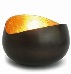 Goldlicht - Swing, Teelichtschale