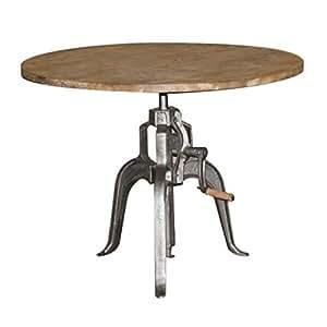 Mathi design tisch h henverstellbar kurbel for Tisch koffer design
