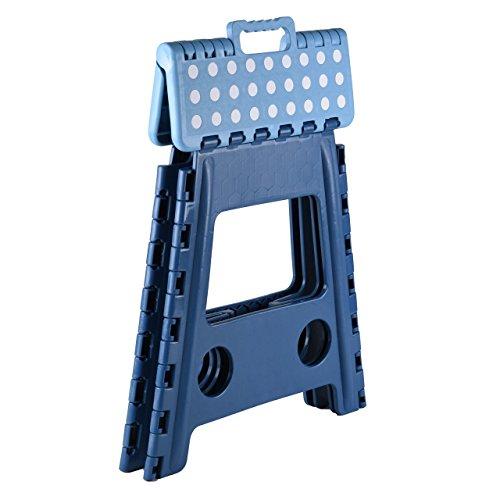Sgabello Pieghevole Puhlmann.Kesper Sgabello Pieghevole Dimensioni 31 X 22 X 39 Cm Colore Blu Nero Assortiti
