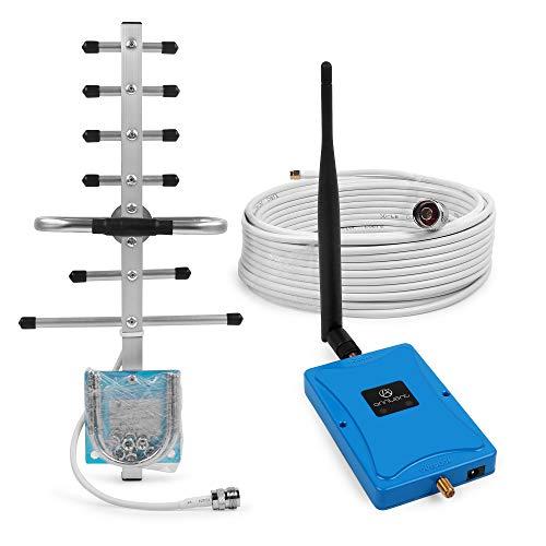 ANNTLENT Handy Signal verstärker Booster 900/1800MHz Band8 Band 3 GSM Repeater Signalverstärker für Telefonie Enlarge Voice