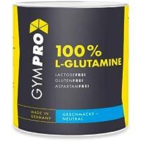 Preisvergleich für GymPro - L-GLUTAMIN Pulver in Deutscher Premiumqualität Hochdosiert I Muskelaufbau I Regeneration I Vegan I 500g