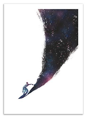 Art-Poster - Surfing the universe - Robert Rarkas