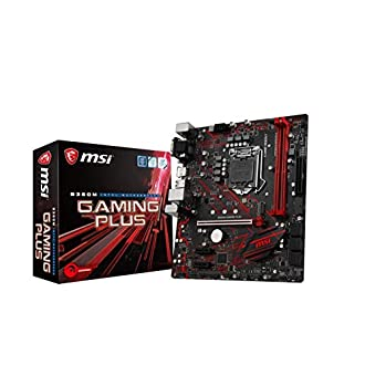 Intel B360M Gaming Plus Carte mère MSI LGA1151 ATX
