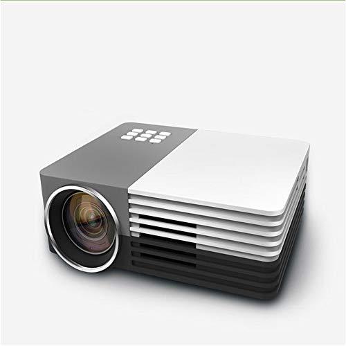 QUARKJK Mini LED Micro proiettore 1080P 1200 Lumen Home Theater Beamer a Buon Mercato proyector con HDMI AV SD VGA