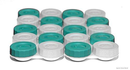 Sports Vision's Kontaktlinsenbehälter - Flach Design CE-gekennzeichnet und FDA-zugelassen 10 Stück - 2