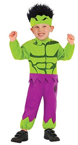 Baby Hulk Kostüm - Rubie's Marvel Hulk Kostüm Kind