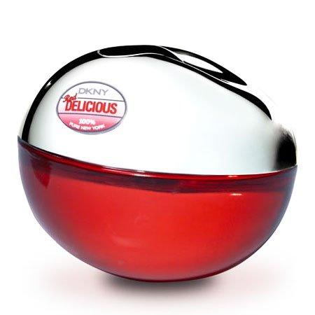 DKNY Red Delicious fur Damen Geschenkset - 50 ml Eau de Parfum Spray + DKNY Cosmetic Bag