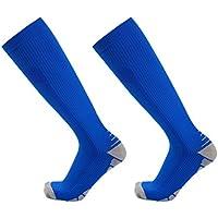 Alexsix Calcetines de compresión Hombres Mujeres Running Fútbol Ciclismo Medias de esquí Soporte ortopédico