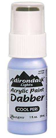Ranger ALD-22312 Adirondack Acrylic Paint Dabber, 1-Ounce, Light Cool Peri by Ranger Products
