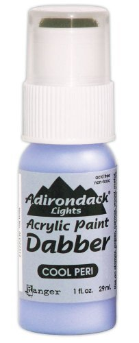 Ranger ALD-22312 Adirondack Acrylic Paint Dabber, 1-Ounce, Light Cool Peri by Ranger Products -