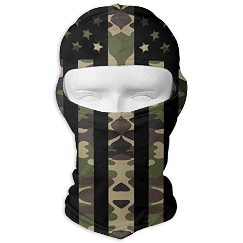 Vidmkeo American Flag Camouflage Winter Hiking Full Face Mask Dust Protection Balaclava Hood for Men and Women Fashion6 -
