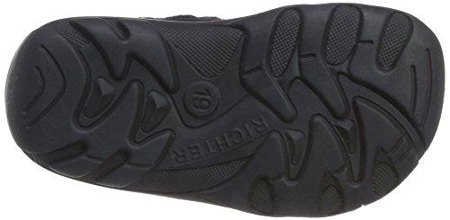 Richter Kinderschuhe Terrino, Chaussures Marche Bébé Fille Blau (atlantic/fuchsia)