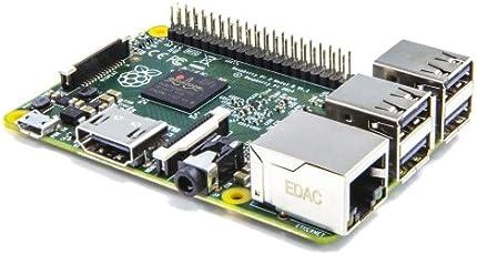 Raspberry Pi 2 - 900MHz quad-core ARM Cortex-A7 CPU, 1GB LPDDR2 SDRAM, complete compatibility with Raspberry Pi 1