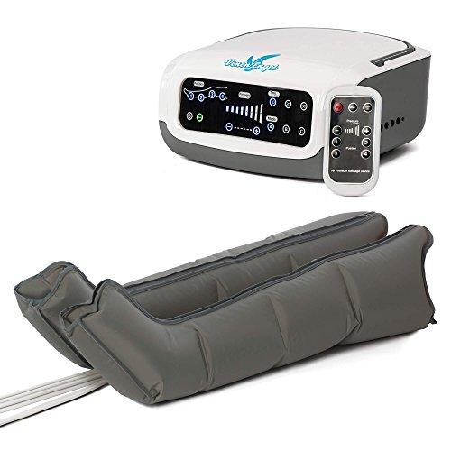 VENEN ENGEL ® PREMIUM Massage-Gerät :: gleitende Massage mit 4 Luftpolstern :: mit drei voreingestellten Programmen und praktischer Fernbedienung