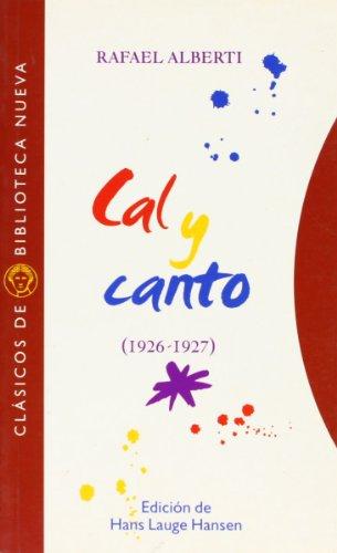 Cal y canto: 1926-1927