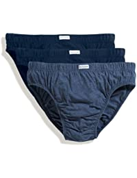 Klassisch geschnittene Herren Slips Mens Underwear, 3er Pack