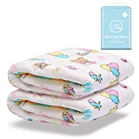 LittleForBig Printed Adult Brief Diapers Adult Baby Diaper Lover ABDL 2 Pieces - Baby Cuties M