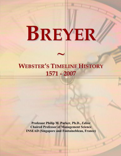breyer-websters-timeline-history-1571-2007