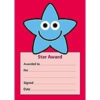 The Sticker Factory A6 Blue Star Star Award Reward Notepad