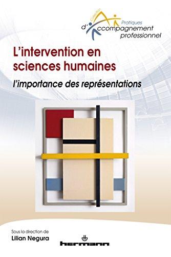 L'intervention en sciences humaines: L importance des représentations