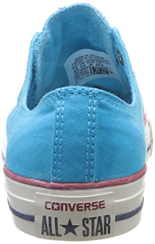 Converse Chuck Taylor All Star Wash Ox, Unisex - Erwachsene Sneaker Blau - blau
