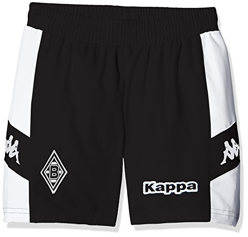 Kappa Kinder Bmg Game Kids Short, 005 Black, 140