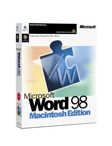 Microsoft Word 98 for the Mac (Ms Word Für Mac)