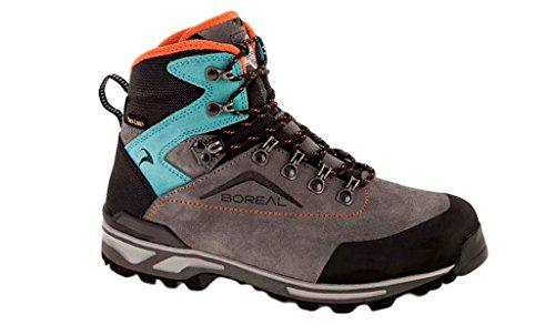 Boreale Turkana-zapatillas De Trekking Para Mujeres, Color: Gris