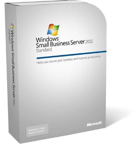 Lizenz HP Microsoft Windows Small Business Server 2011 Standard 5 USR CAL E F I G S