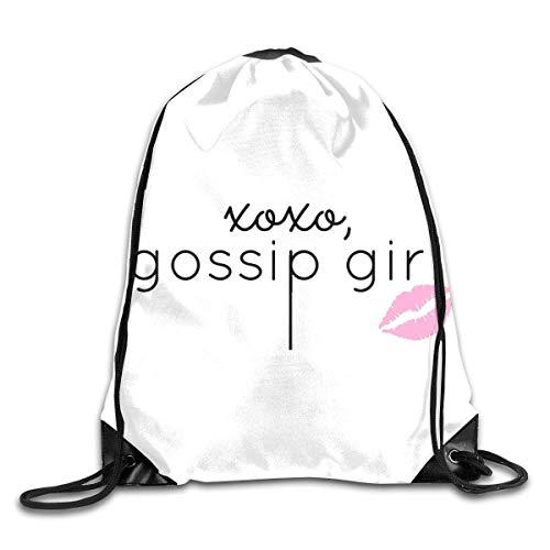 88316c1b801d Naiyin Gossip Girl Design Drawstring Bag Backpack Sackpack Shoulder Bags  Gym Bag Lightweight Gym for Men And Women Hiking Swimming Yoga