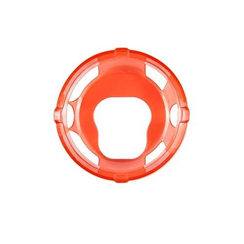 iche ultra-dünne TPU-Schutzhülle displayschutz All-Around Schutzhülle Ultra-Slim Stoßfest Schutz TPU-Beschichtung Schutzhülle für Suunto Spartan Sport Wrist Hr Baro (Red) ()