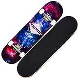 JBD Skateboards Complete, Skateboard Mini Cruiser de 31 Pulgadas, Doble Cubierta de Arce Kicktail, Estilos de Skate en diseños gráficos para niños, niños, jóvenes, Principiantes, 6
