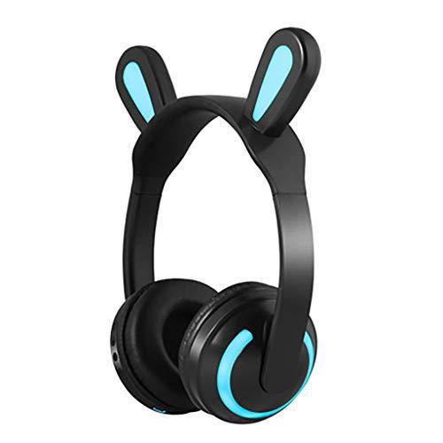 -Katzenohren des Bluetooth-Headsets mit Bluetooth-Rotwild des Weizendämonspiels (Color : B) ()